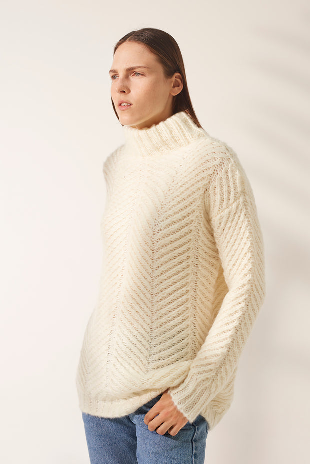 Nala Sweater - White
