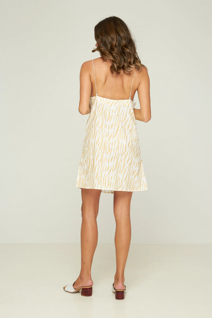 PRE - ORDER Mason Mini Dress - Le Tigre - Sand