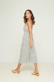 Sargeant Dress - Pebbles - Noir