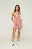 Sofie Playsuit - Hampton Stripe - Rust