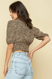 SUZETTE BLOUSE - TROUBADOR