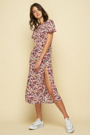 PASO DRESS - MONET FLORAL - DARK