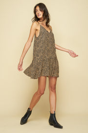 SUTTON MINI DRESS - TROUBADOR