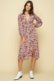 SHANDON MAXI DRESS - MONET FLORAL
