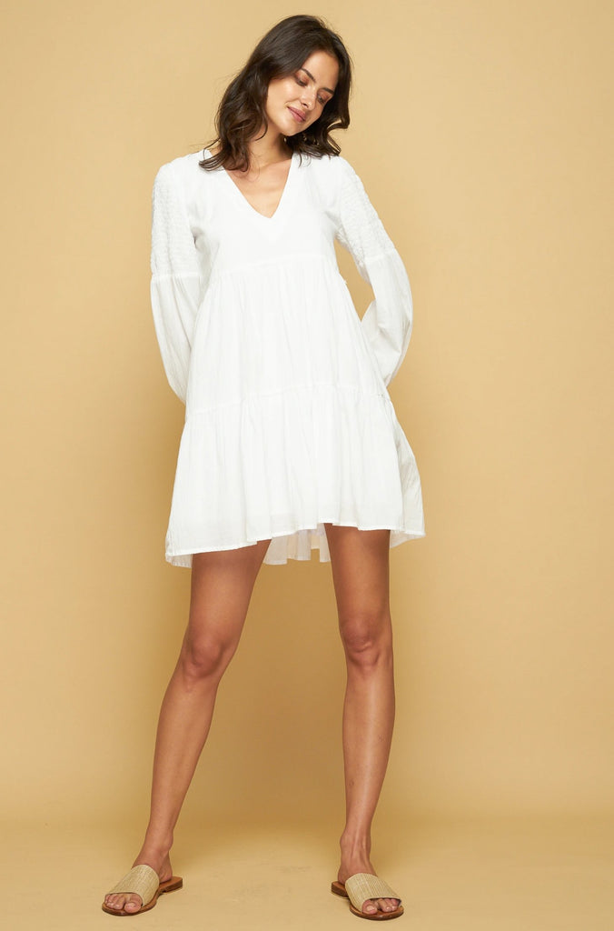 PRE ORDER BAYLIN DRESS - WHITE