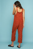 HAMMOND JUMPSUIT - TRUE CLAY