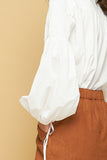 SABLE BLOUSE - WHITE 1