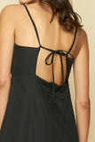 LEWIS MINI DRESS - BLACK
