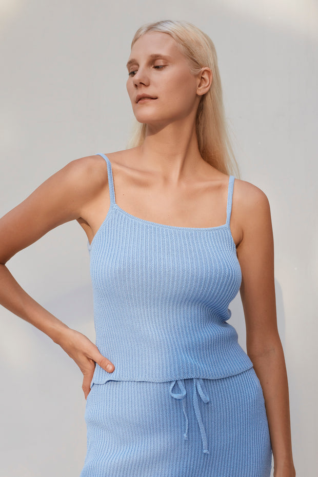 Riya Top - Baby Blue