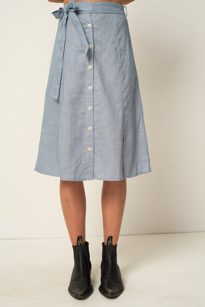 Siegel Skirt - Powder Blue
