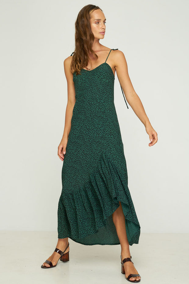 KADY DRESS - MOUNTAIN GREEN
