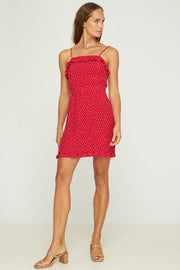 TULIP MINI DRESS - GALA - HIBISCUS