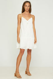 SIONA MINI DRESS - WHITE
