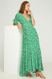 MONA MAXI DRESS - STEVIE FLORAL - PEPPER