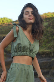 BAILEY TOP - OLIVE