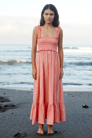 HADLEY MAXI DRESS - PEACH