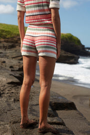 BELEN SHORT - RETRO STRIPE
