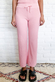 PRE ORDER SHAE KNIT PANT - PINK