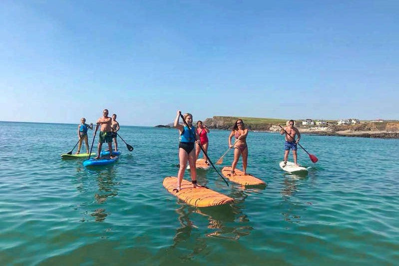 Stand-Up Paddle Boarding Adventure