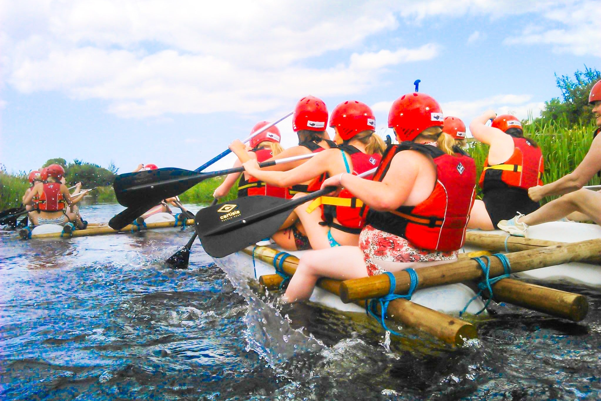 Raft Building: The Ultimate Team Challenge