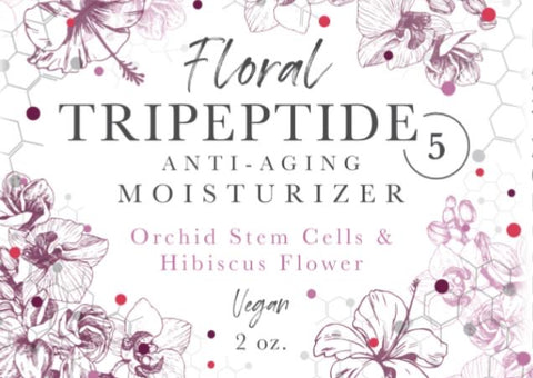 Floral TriPeptides & Anti Aging Moisturizer