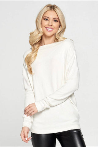 Off the shoulder Ivory Top