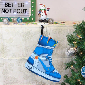 Jordan 1 UNC Virgil off white Sneaker Christmas Stockings 2020