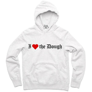 YOUNG CEO-I (HEART) THE DOUGH WHITE HOODIE