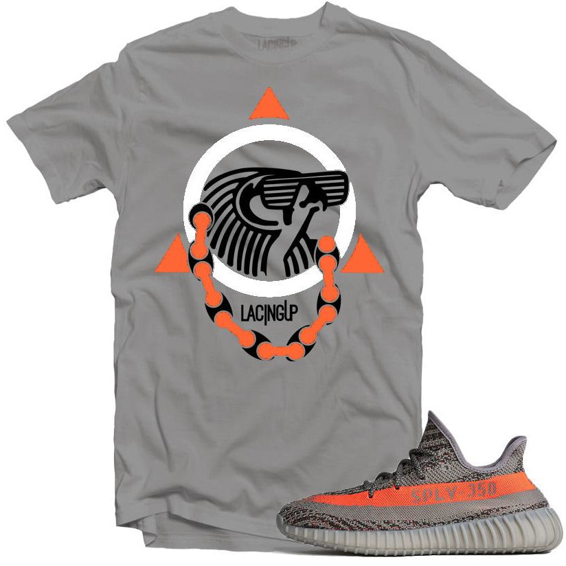 Yeezy boost beluga yeezy logo silver tee-Lacing Up