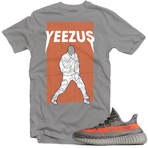 Yeezy boost 350 beluga performance silver tee-Lacing Up