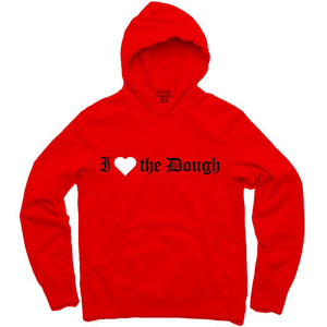 YOUNG CEO- I (HEART)THE DOUGH RED HOODIE
