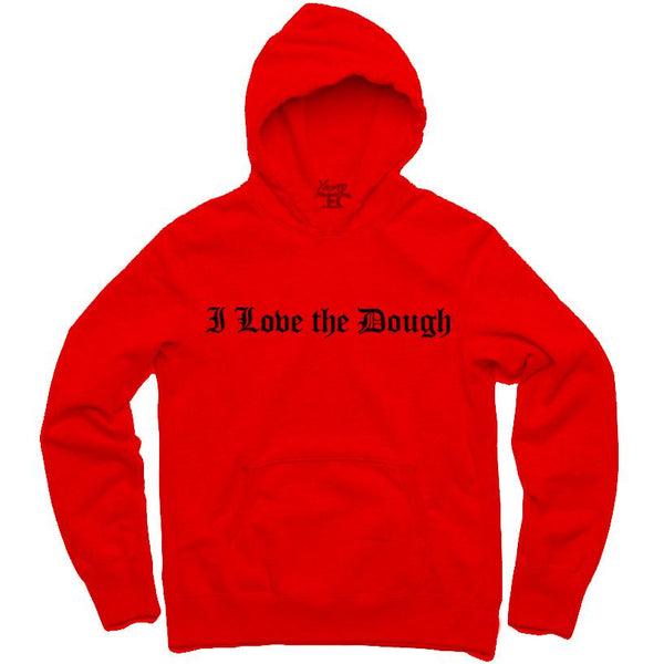 YOUNG CEO-I LOVE THE DOUGH RED HOODIE