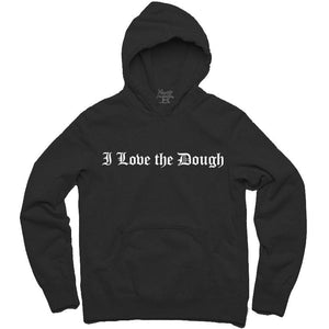 YOUNG CEO-I LOVE THE DOUGH BLACK HOODIE