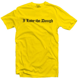 YOUNG CEO-I LOVE THE DOUGH YELLOW TEE