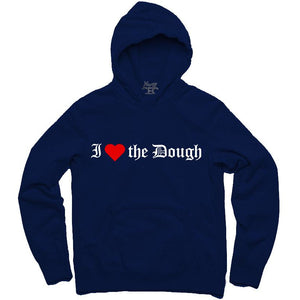 YOUNG CEO-I (HEART) THE DOUGH NAVY BLUE HOODIE