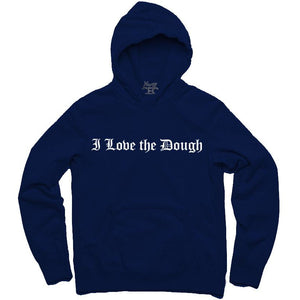 YOUNG CEO-I LOVE THE DOUGH NAVY HOODIE