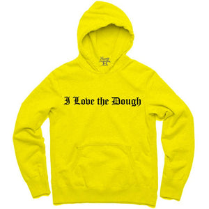 YOUNG CEO-I LOVE THE DOUGH YELLOW HOODIE