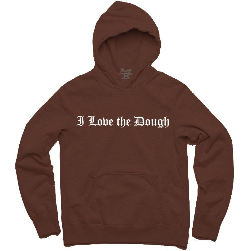 YOUNG CEO-I LOVE THE DOUGH BROWN HOODIE