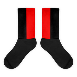 Jordan Bred custom socks