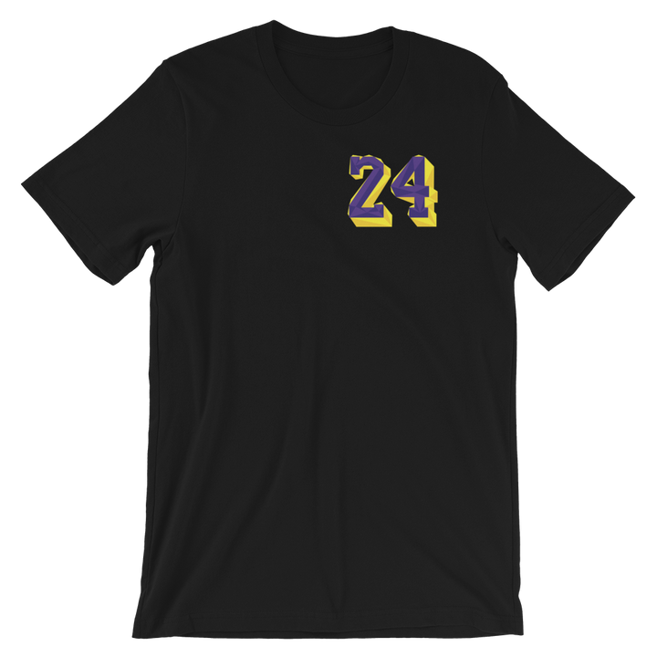 Remembering Mamba polo inspired  Black tee-Lacing uP