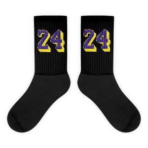 24 Mamba custom Socks