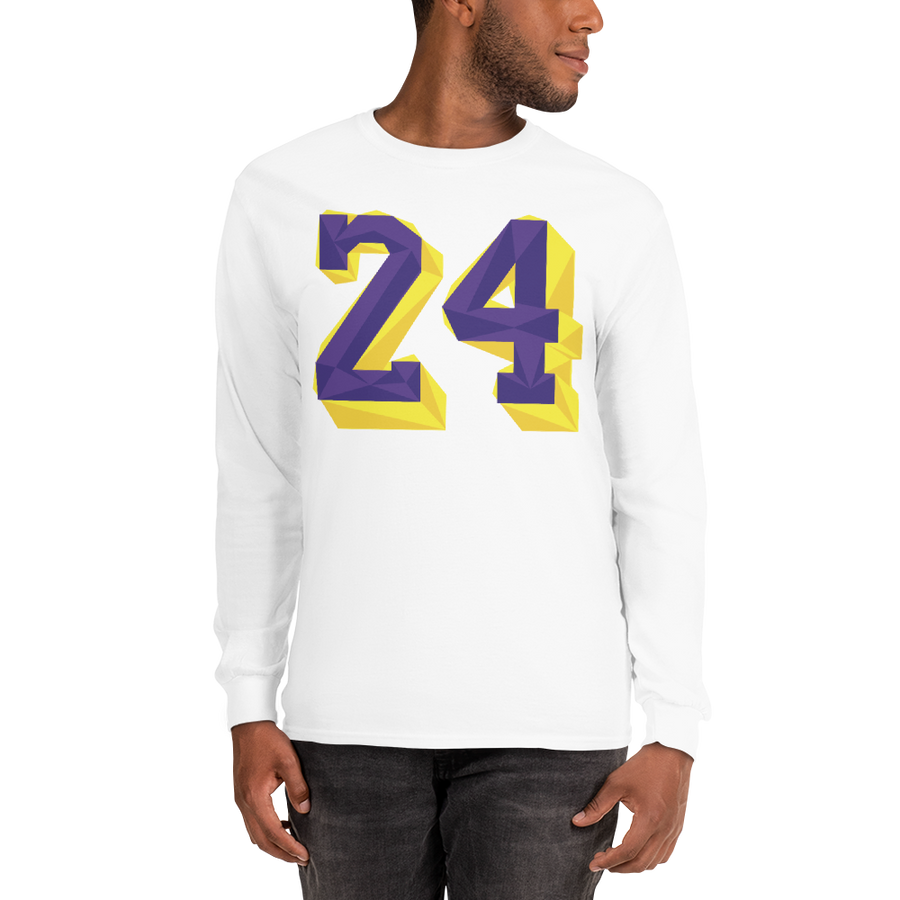 Remembering Mamba multi-color Men's Long Sleeve Shirt
