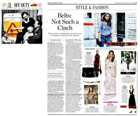 WSJ | OFF DUTY SEPTEMBER 2015