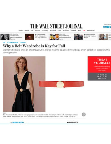 WALL STREET JOURNAL AUGUST 2015