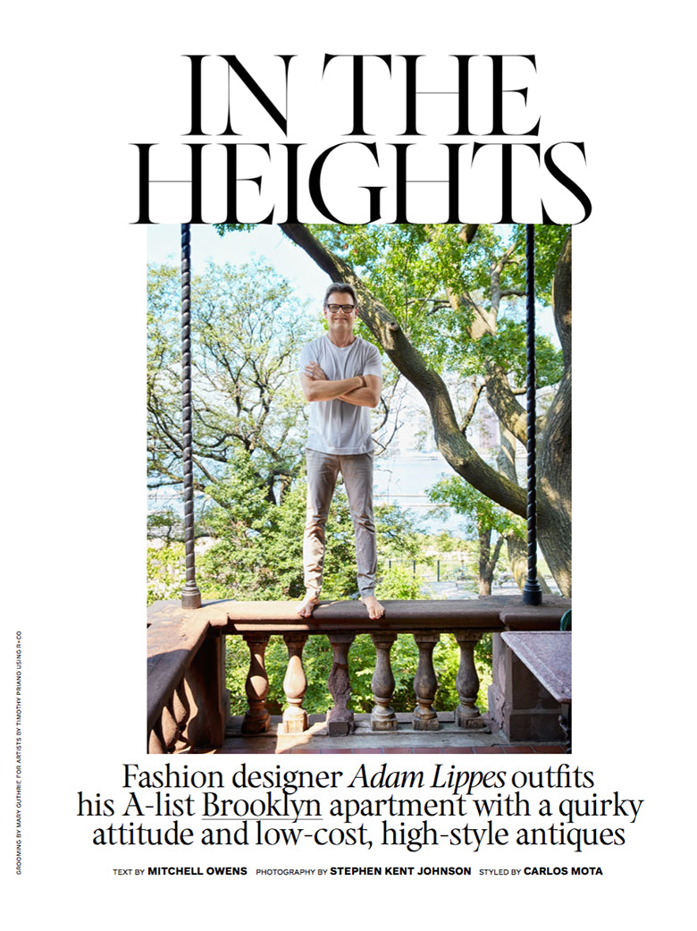 Adam Lippes Architectural Digest | July 2019