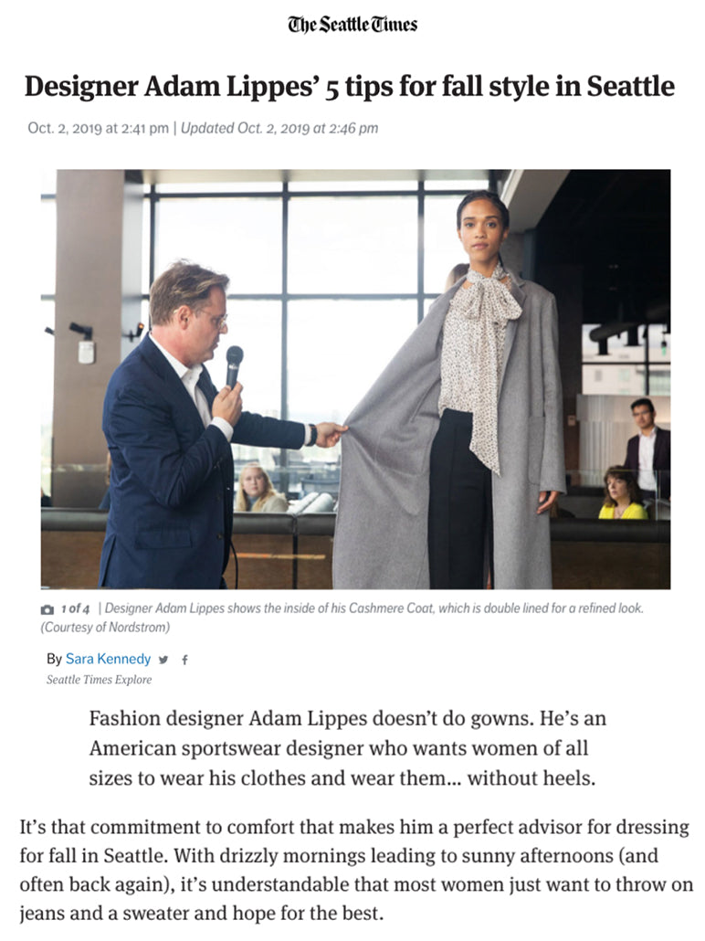 Adam Lippes The Seattle Times | October 2019
