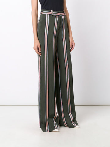 Jacquard Relaxed Wide Leg Pant