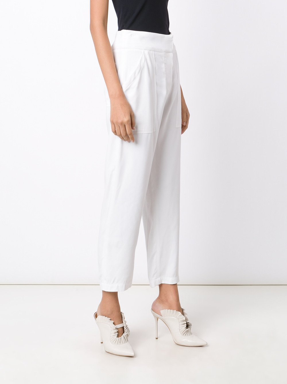 Cotton Patch Pocket Crop Pant