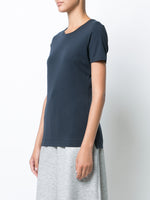 SHORT SLEEVE CREWNECK T-SHIRT IN PIMA COTTON