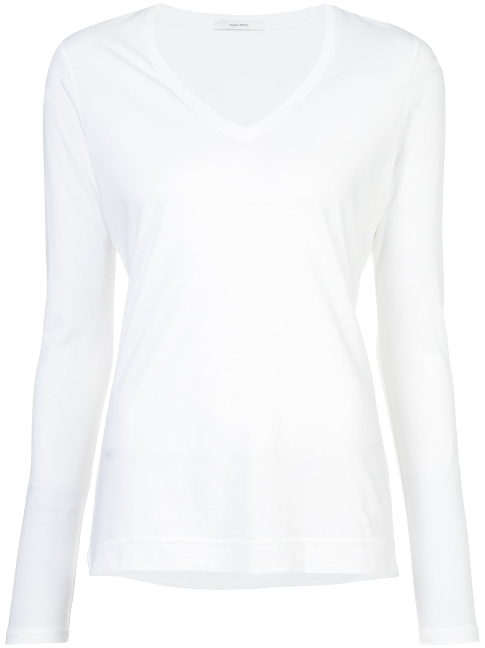 6ed301dfea8a Pima Cotton Long Sleeve V-Neck T-shirt – Adam Lippes